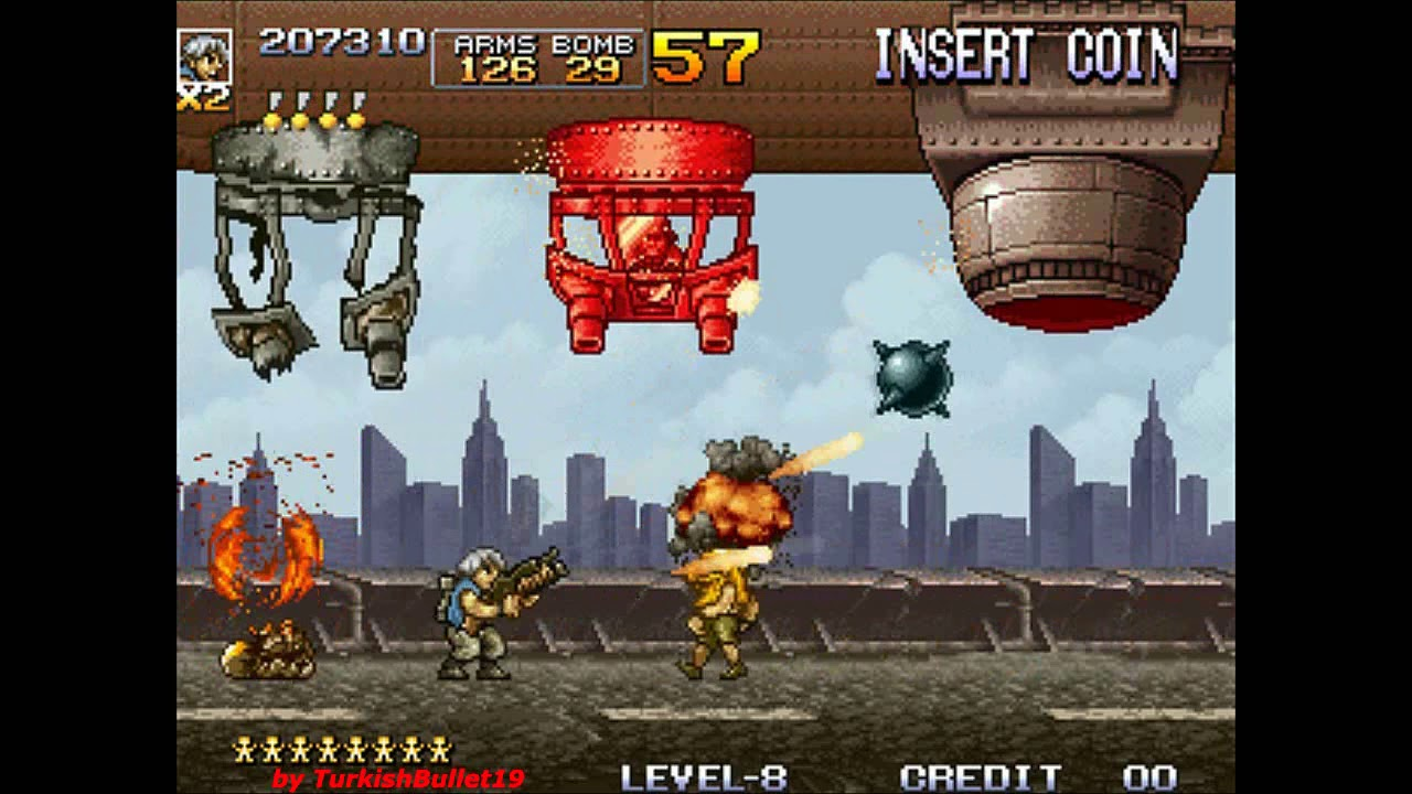 Metal Slug 4 (Arcade) - (Longplay - All Paths / All Secrets | Level 8 Difficulty)