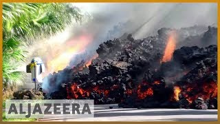 🌋 Hawaii volcano:  More lava destroys homes | Al Jazeera English