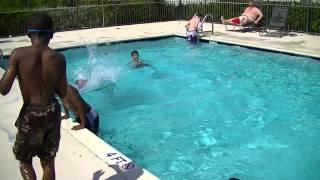 Ezra kids pool B day party! 002 5/25/2013