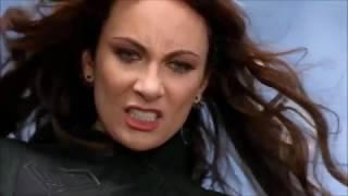 Супергёрл против Астры в сериале