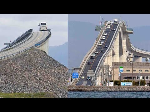 Top 10 Most Scariest And Craziest Bridges In The World || Pastimers