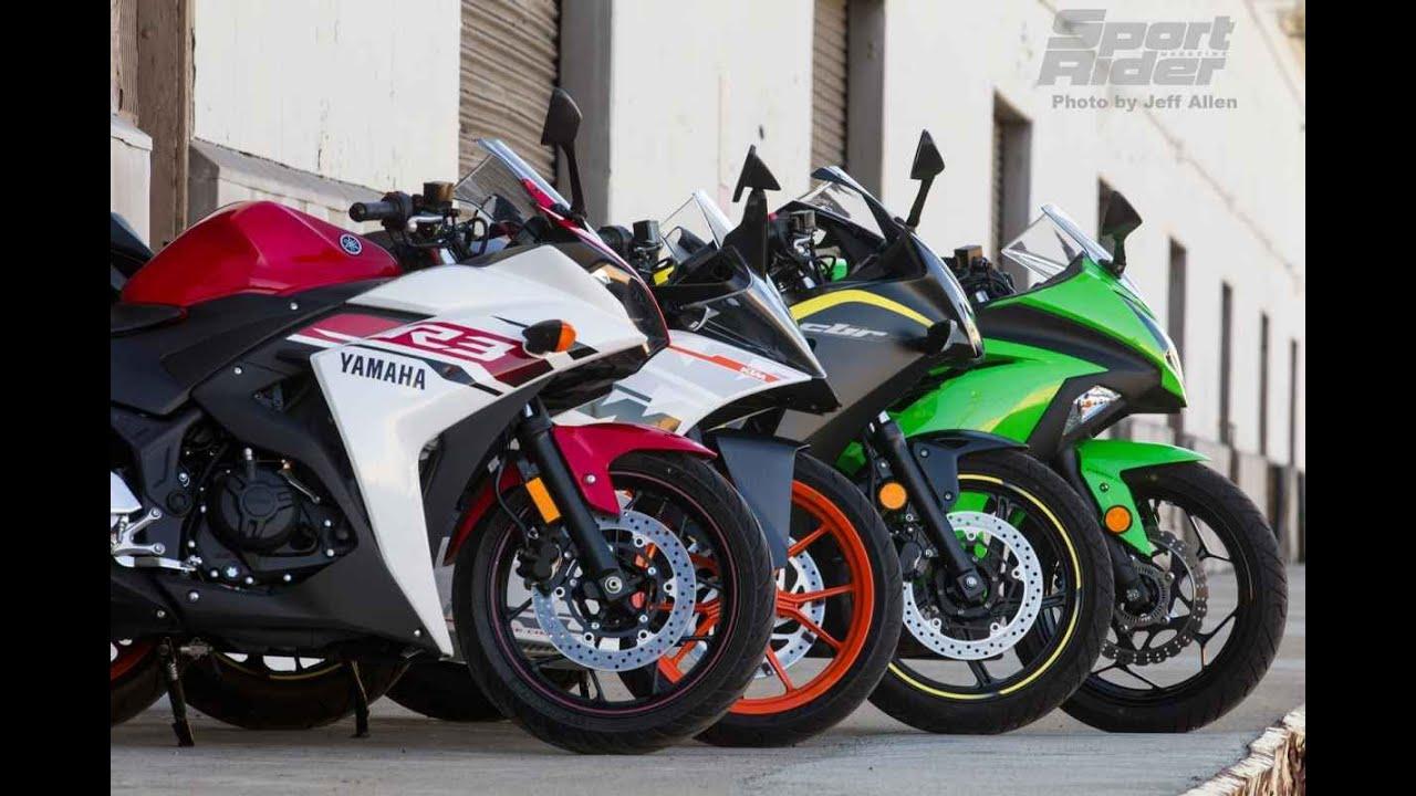 Yamaha YZF R3 VS Kawasaki Ninja 300 | Video - YouTube