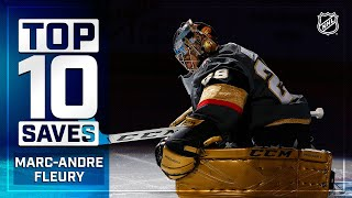 Top 10 Marc-Andre Fleury Saves from 2019-20   NHL