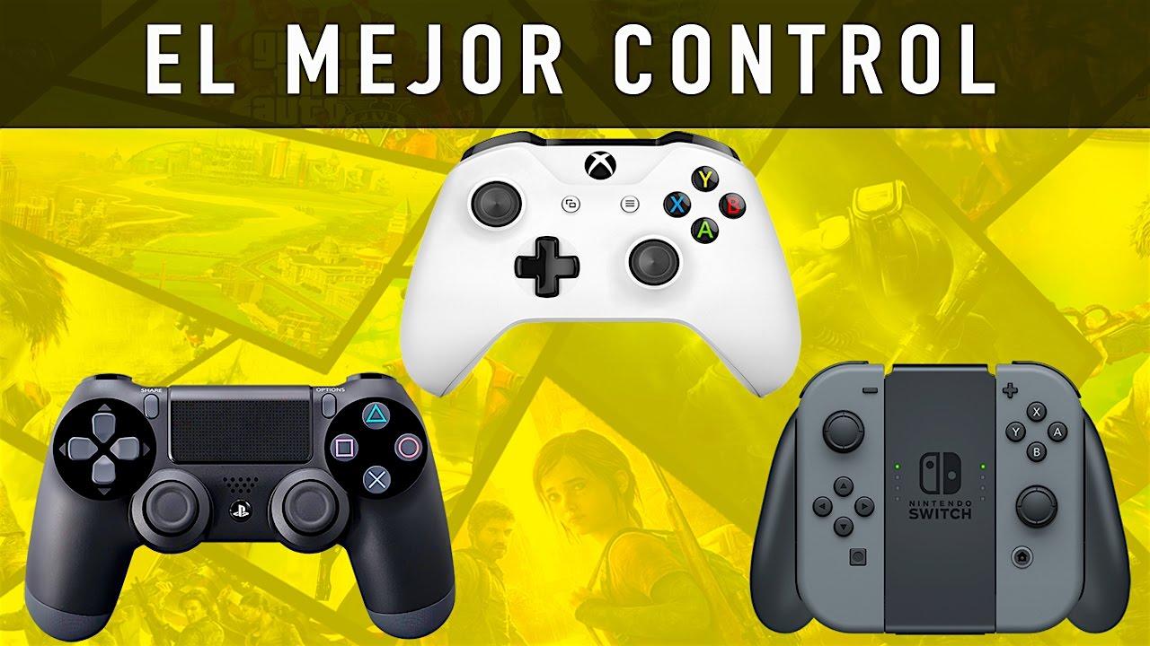 Cuál Es El Mejor Control Playstation 4 Xbox One Nintendo Switch