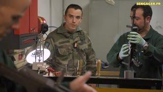 Chef d'équipe mécanicien armement