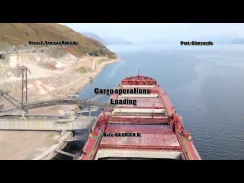 Bulk carrier cargo operations - loading