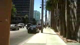 Walking to the Marriage License Place, Las Vegas