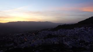 Evening Call to Prayer Chefchaouen Morocco