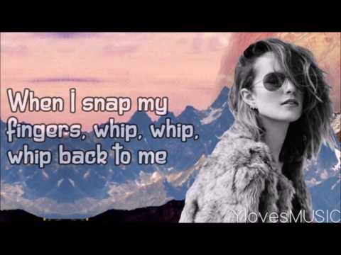 Bridgit Mendler - Snap My Fingers (Lyrics)