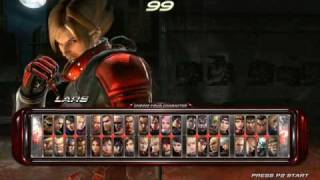 Tekken 6 Soundtrack Character Select