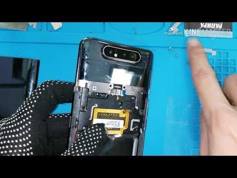 Замена стекла на Samsung A80, разбор. Change glass A80 replacement.
