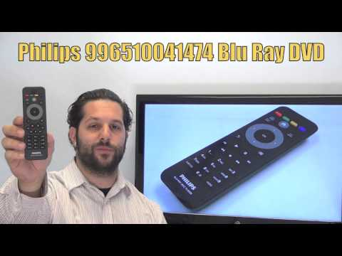 PHILIPS 996510041474 Blu-Ray DVD Player Remote - Www.ReplacementRemotes.com