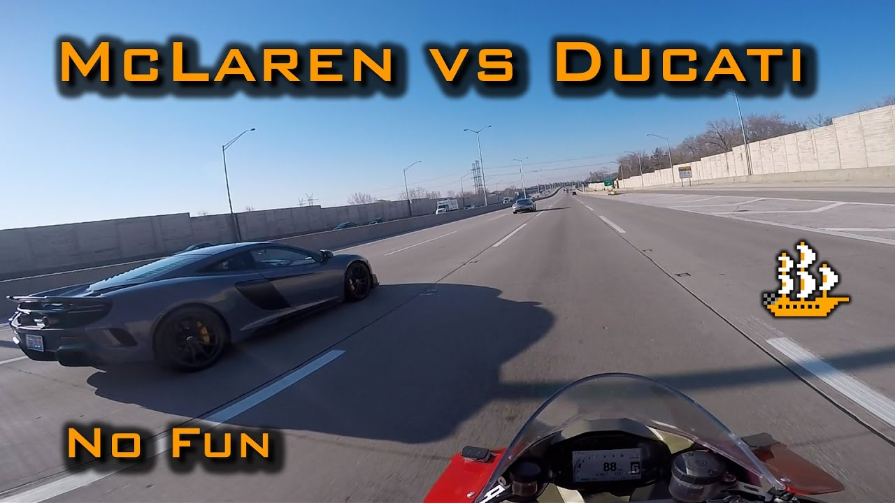 Mclaren Won T Race Ducati 1299 Panigale Motovlog Youtube