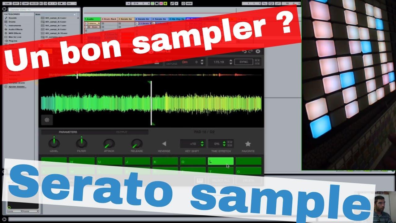 sample pour serato
