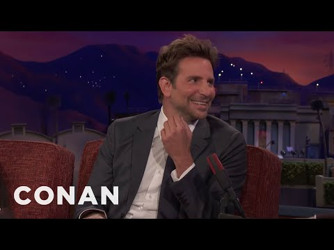 Bradley Cooper & Lady Gaga Bonded Over Leftover Pasta  - CONAN on TBS