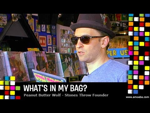 Peanut Butter Wolf - What's In My Bag?