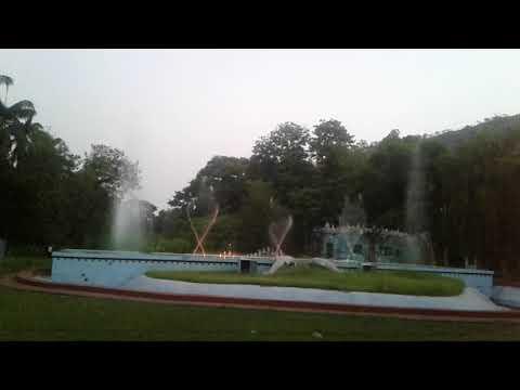 Water dance in Rourkela