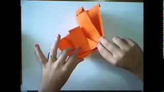 Tutorial: Origami Pen / Cosmetics Holder
