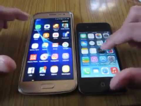 galaxy vs iphone samsung galaxy j2 2016 vs iphone 4 speed test review 2208