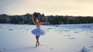 Ilmira Bagautdinova si allena così: la ballerina russa danza sul ghiaccio