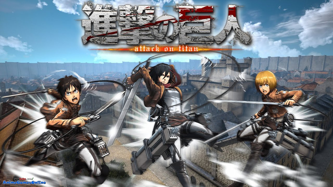 NEW ATTACK ON TITAN PC GAME !!! - YouTube