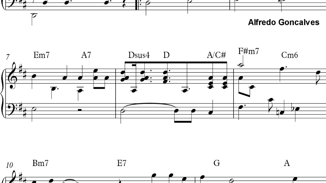 Cumplea os feliz arreglo 2 piano partitura youtube - Cumpleanos feliz piano ...