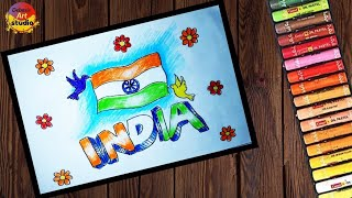 Independence day drawing || art#35