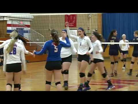 10/27/16 - Volleyball - Mabel-Canton 3, Schaeffer Academy 0