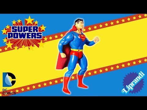 KENNER SUPER POWERS COLLECTION - SUPERMAN ACTION FIGURE REVIEW (eng)