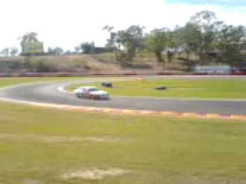 The V8 Super Car's in Darwin NT