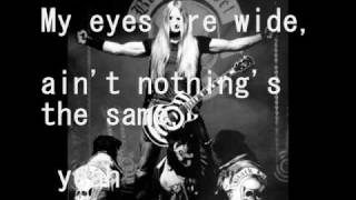 black label society - damage is done with lyrics