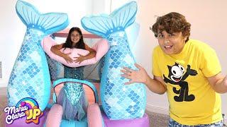 MINHA IRMÃ VIROU UMA SEREIA ♥ My sister became a mermaid