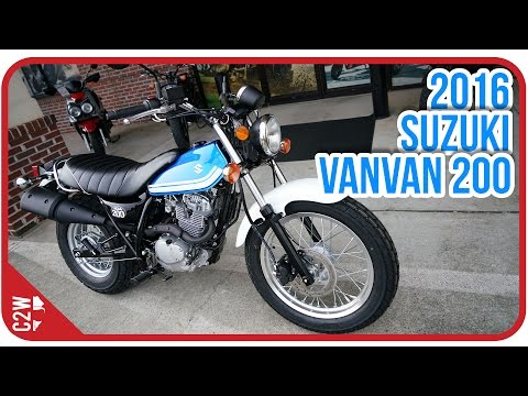 2016 Suzuki VanVan 200 | First Ride
