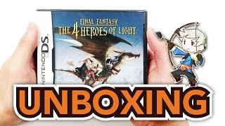 Final Fantasy: The 4 Heroes of Light (Nintendo DS) Unboxing!!