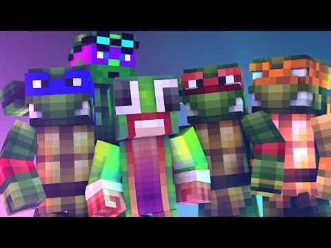 Minecraft WHO'S YOUR DADDY? BABIES MEET TEENAGE MUTANT NINJA TURTLES!