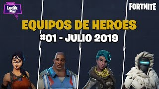 #01 HERO TEAM GUIDE: CENIT, KNOX POWER BASE, PLATOR ALITO FORTNITE SAVE THE WORLD