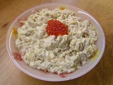 перец с луком салат видео рецепт