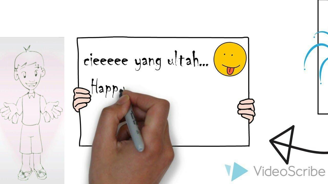 Video Tulis Tangan Buat Pacar Ulang Tahun Bikin Hati Luluh Videoscribe