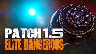 Elite: Dangerous - Patch 1.5 Obsidian Orbital, New Missions, Distress Signals & Unknown Artifacts