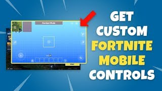 How to Get Custom Fortnite Mobile Controls - HUD Layout Tool