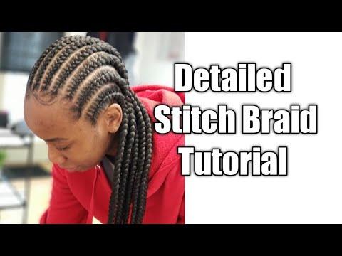 How To Stitch Braids|The Best Stitch Braid Tutorial
