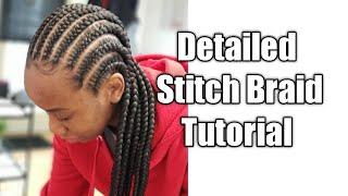 How to Stitch Braids The Best Stitch Braid Tutorial