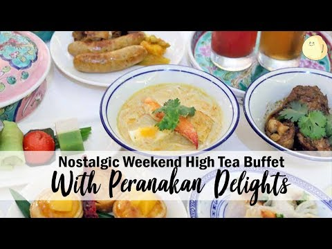 Nostalgic Weekend High Tea Buffet At Atrium, Pan Pacific Singapore
