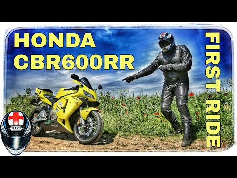 Honda CBR600RR (2003) | First Ride Review (Română)
