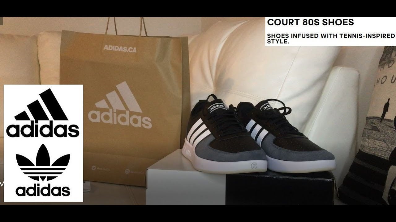 vantaggio attitudine sensibilità  ADIDAS COURT 80S Back to School SNEAKER Watch Before You Buy! - YouTube