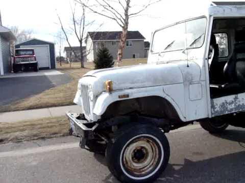 DJ5 Postal Jeep AM General Lifted walk around - YouTube