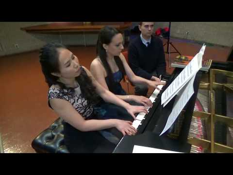 Tchaikovsky Waltz from The Sleeping Beauty - Chiu-Villafranca Duo (arr. Rachmaninoff)