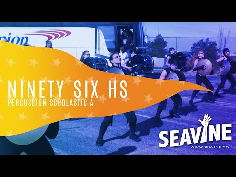 Ninety Six High School Cymbal Line 2019 Prelims- In the Lot with Seavine