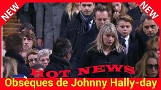 Obsèques de Johnny Hallyday : David Hallyday, réuni avec Estelle Lefébure, leurs filles