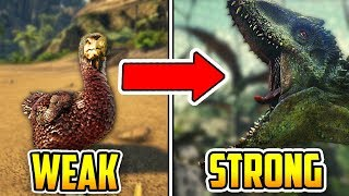 Ark's STRONGEST vs WEAKEST Creatures - How Do They Compare?